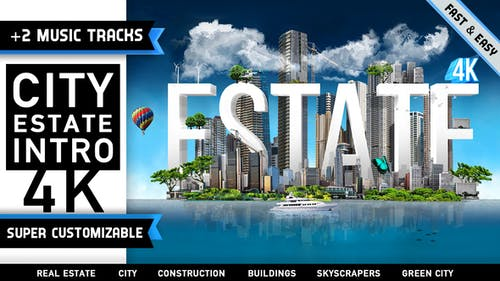City Estate Intro Logo