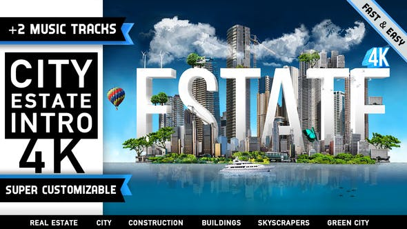 Thumbnail for City Estate Intro Logo