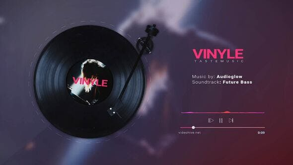 Vinyl Music Visualizer