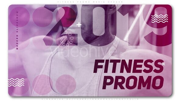 Thumbnail for Fitness Promo Media Opener