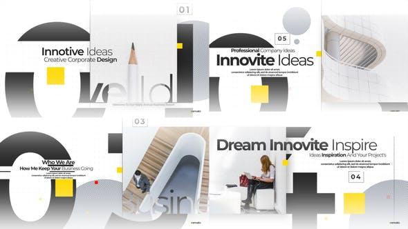 Thumbnail for Ouvre-porte d'entreprise minimaliste moderne