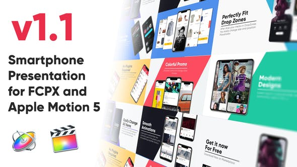 Smartphone Presentation for FCPX and Apple Motion 5