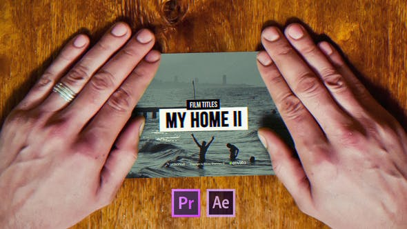 Thumbnail for Film Titles Slideshow | My Home II