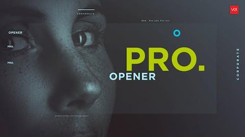 Typographic Photo Promo Show
