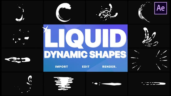 Dynamic Liquid Shapes | After Effects