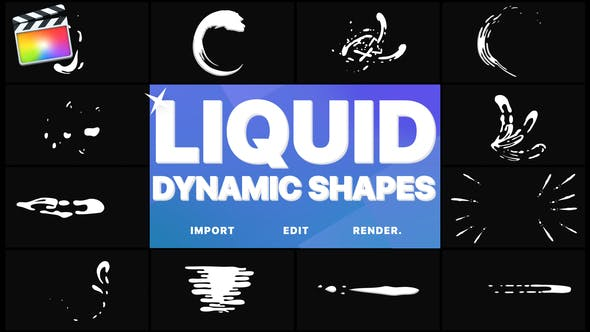 Dynamic Liquid Shapes | FCPX