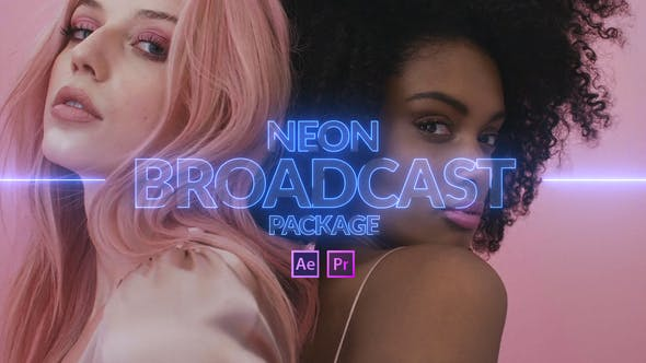 Thumbnail for Neon Broadcast Package