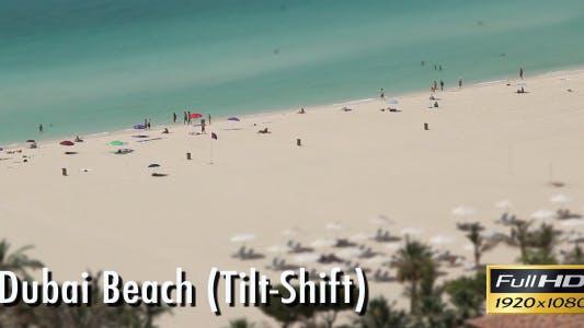 Thumbnail for Dubai Beach - Tilt Shift
