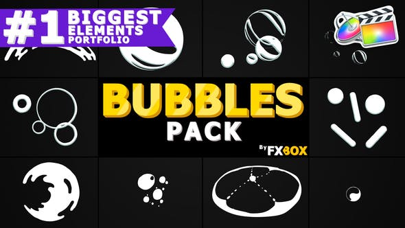 Thumbnail for Bubble Elements | FCPX