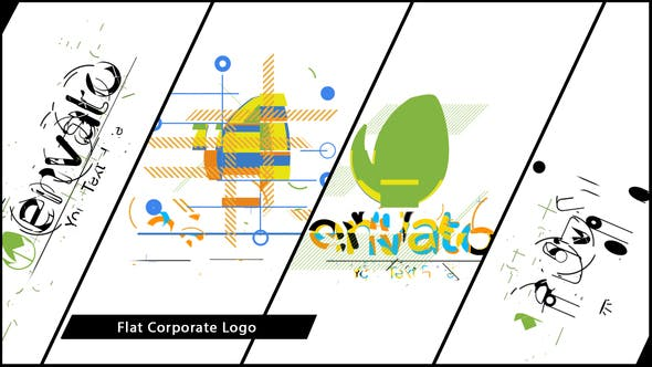 Thumbnail for Flat Corporate Logo V02