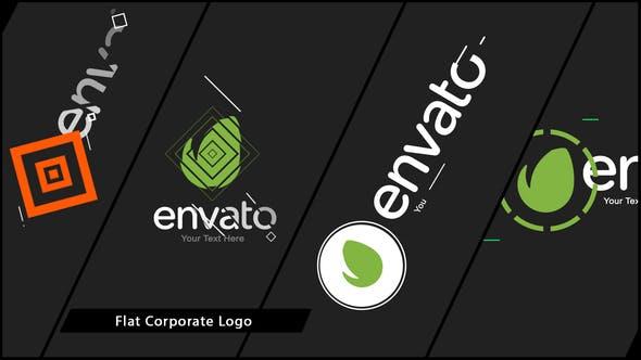 Thumbnail for Flat Corporate Logo V01
