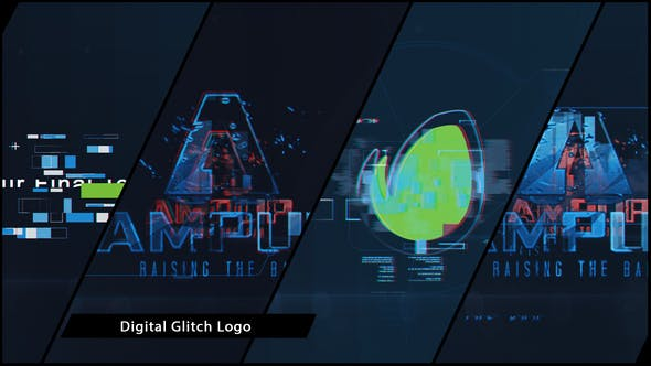 Thumbnail for Digital Glitch Logo