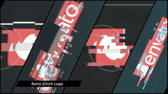 Thumbnail for Retro Glitch Logo