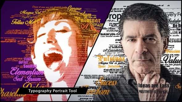 Thumbnail for 3D Typography Portrait Tool