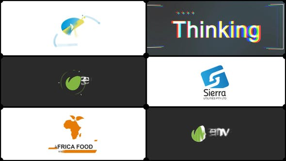 Simple and Flat Corporate Logo
