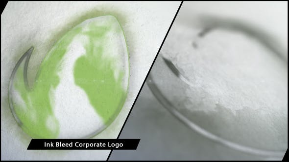 Thumbnail for Ink Bleed Corporate Logo