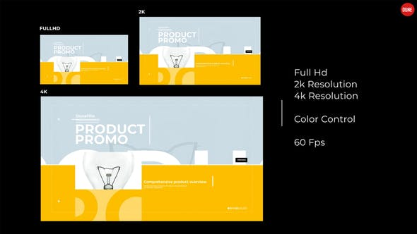 Thumbnail for Modern Product Promo 2