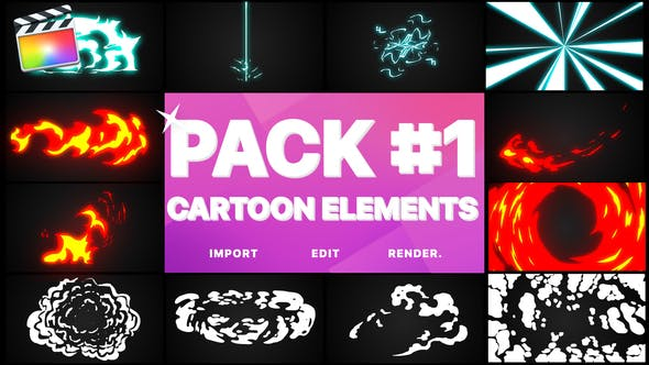 Thumbnail for Elements Pack 01 | Final Cut