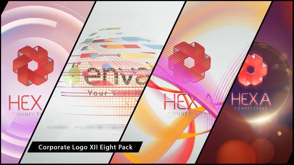 Thumbnail for Corporate Logo XII Eight Pack