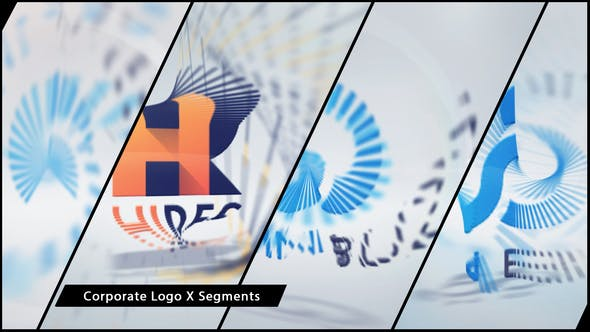 Thumbnail for Corporate Logo X Segments