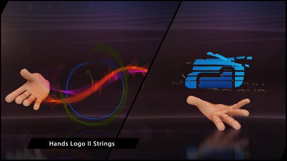 Thumbnail for Hands Logo II Strings
