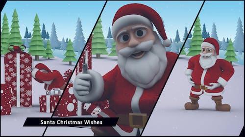 Santa Christmas Wishes