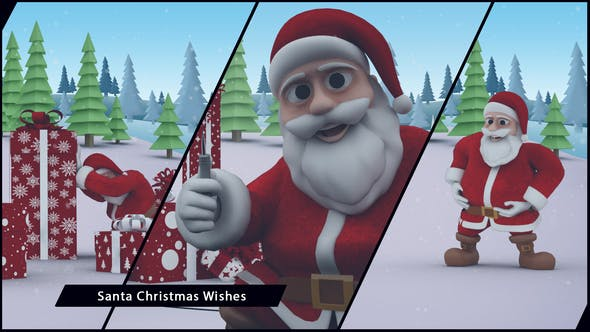 Cover Image for Santa Christmas Wishes