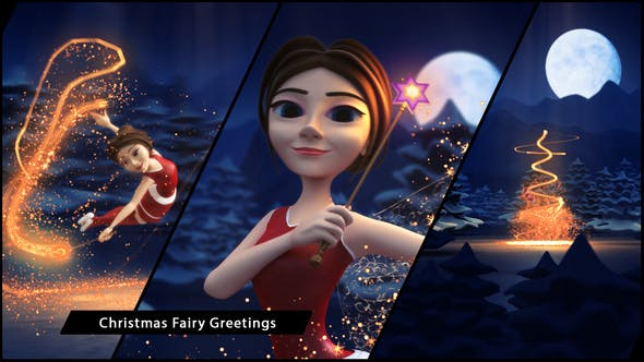 Thumbnail for Christmas Fairy Greetings