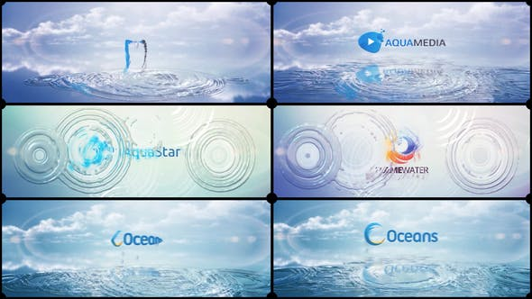 Thumbnail for Clean Logo V03 Water Ripples
