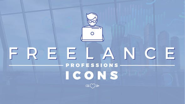 Thumbnail for Freelance Professions Icons