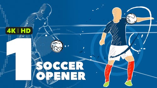 Soccer Opener 1 For Premiere Pro