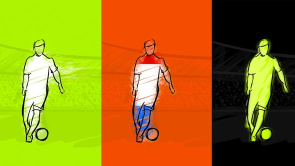 Thumbnail for Soccer Intro Animation