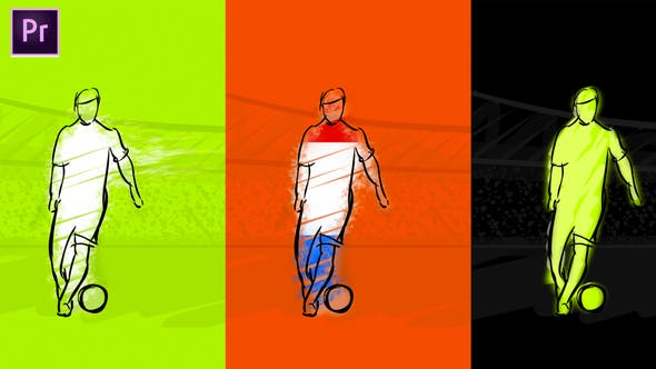 Thumbnail for Soccer Intro Animation For Premiere Pro