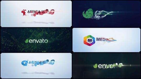 Cover Image for Particles Corporate Logo V02