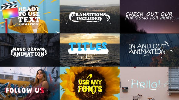 Thumbnail for 2d Lyric Titles | FCPX