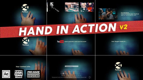 Hand in Action - Hand Animations