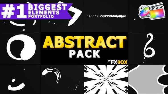 Thumbnail for Cartoon Abstract Elements | FCPX