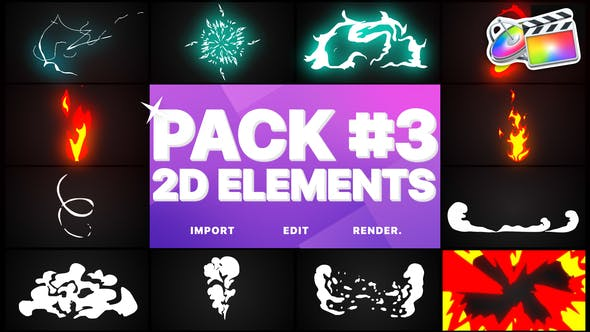 Thumbnail for Flash FX Elements Pack 03 | Final Cut