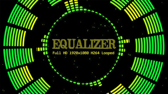 Thumbnail for Audio Equalizer Vj Loop Pack