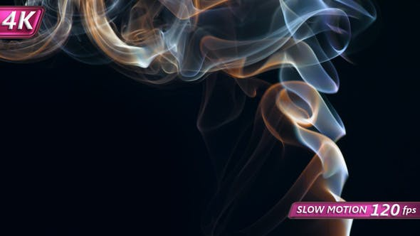 Smoke From A Chemical Reaction