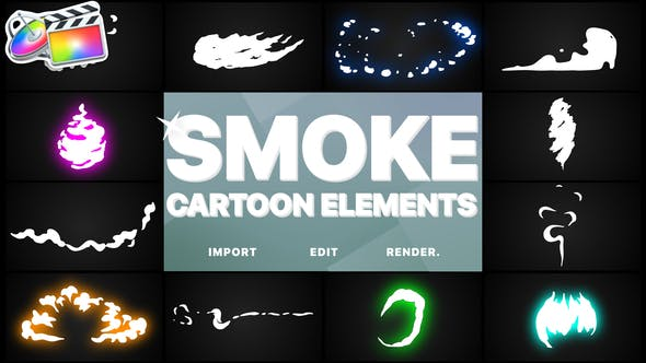Thumbnail for Flash FX Cartoon Smoke | Final Cut