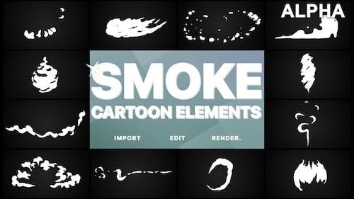 Flash FX Cartoon Smoke | Pack Graphiques animés