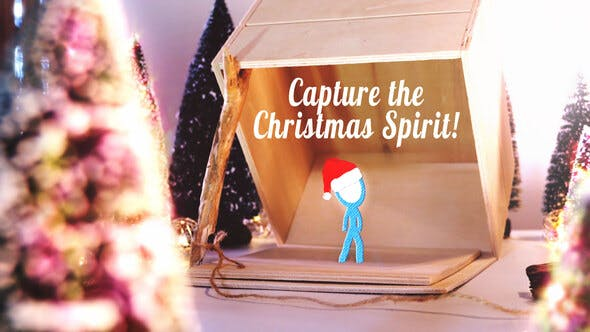 Thumbnail for Capture the Christmas Spirit | Christmas Card Animation