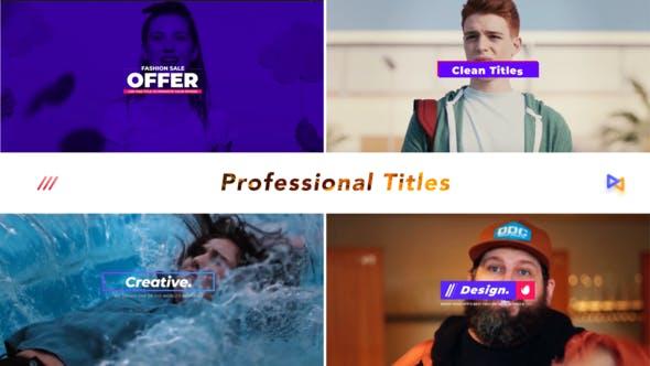 Thumbnail for Professional Titles v2
