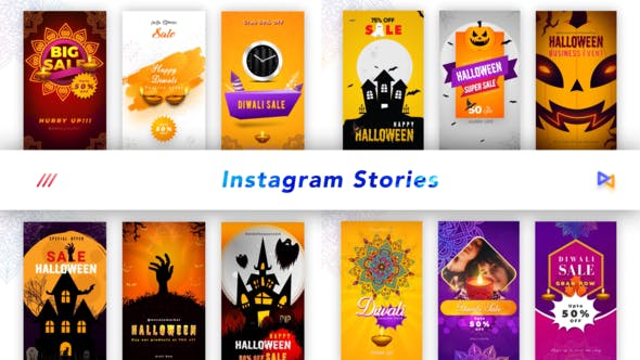 Thumbnail for Halloween Instagram Stories