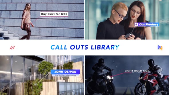 Thumbnail for Modern Call Outs Library