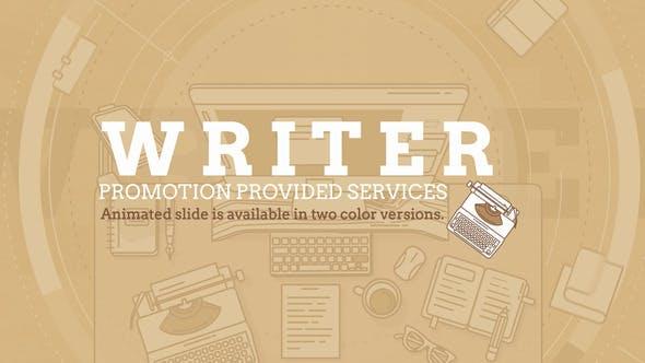 Writer Promo