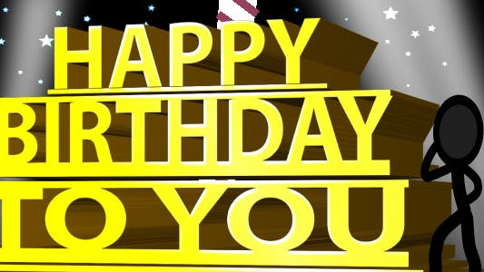 Thumbnail for Happy Birthday Ecard - Inkman