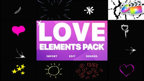 Thumbnail for Love Elements | FCPX