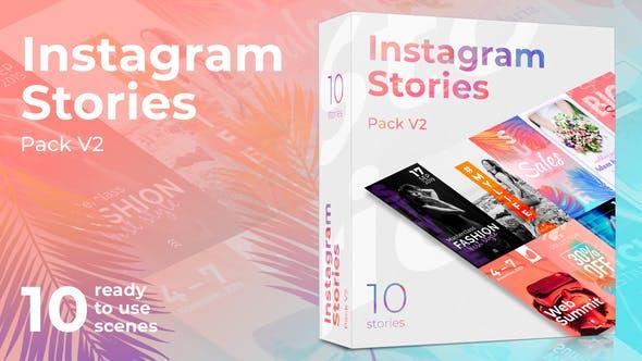 Thumbnail for Instagram Истории Пакет V2